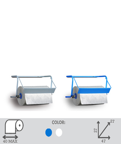 Wall/table dispenser in metal tube. Art.14E